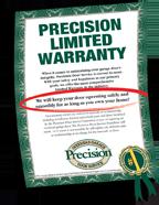 Precision Garage Door Nj Repair Openers Amp New Garage